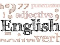 English Language lessons with a qualified, native speaker - only £15 per hour.
