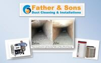 Father & Son Duct Cleaning and Installations