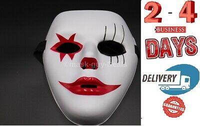 Anonymous Mask Adult Mens Guy Fawkes Anonymous dance Occupy Halloween Costume (Anonymous Mask Halloween Costume)