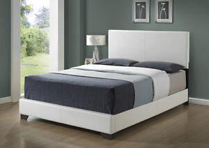 NEW WOODEN OR LEATHER BED SETS