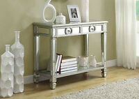 MIRRORED FURNITURE SOFA TABLES CONSOLES