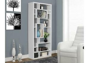 "$209 - BOOKCASE – 72""H /  3 colors available --- FREE DELIVERY !"