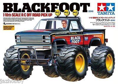 Tamiya 58633 1/10 RC Off-Road Pick Up Truck Kit F150 Blackfoot 2016 w/ESC NIB