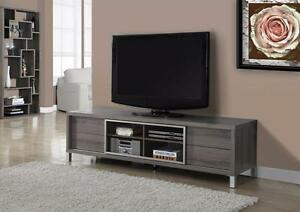 "Brand New ! STAND – 70""L / DARK TAUPE --- Free Delivery !"