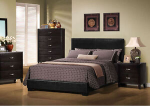 NEW WOODEN OR LEATHER BED SETS AND BUNK BED SETS