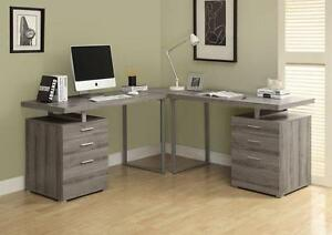 "DARK TAUPE RECLAIMED-LOOK 48""L DESK"