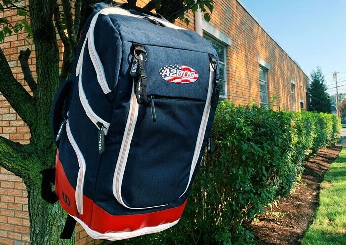 Wilson A2000 Baseball Player Backpack Bat Bag — USA Limited Model 50% Off