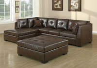CLEARANCE NEW LEATHER SETS