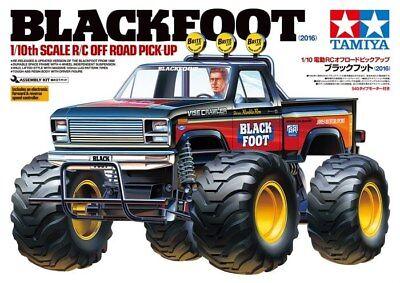 Tamiya Blackfoot 1 10 Scale Monster Truck Kit 2016 Version 58633 Tam58633