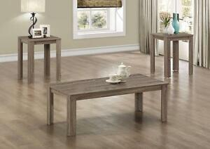 $149 - TABLE SET – 3PCS SET / DARK TAUPE