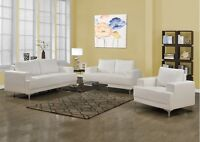 SET DE SALON 3PCS,CHAISE,SOFA,CAUSEUSE,FAUTEUIL