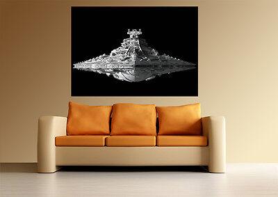 A0 DARTH VADER STAR WARS DESTROYER ART HUGE LARGE IMAGE GIANT POSTER PRINT