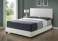 NEW WOOD OR LEATHER BED SETS