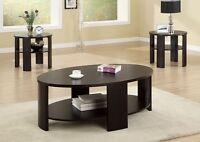 Liquidation 3pcs coffee table each $75