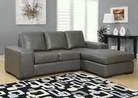 2 Piece Bonded leather Sectional.