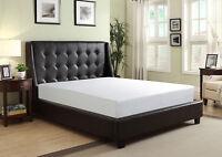 Matelas queen mousse memoire/memory foam queen size bed