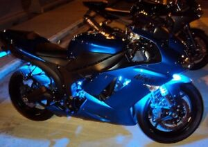 6 PIECE 15-COLOR MOTORCYCLE LED GLOW LIGHT KIT-One Left!