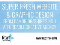 Affordable Web & Graphic Design from leading Cambridge digital agency