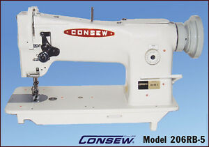 Consew-206RB5-Walking-Foot-Industrial-Sewing-Machine-HEAD-ONLY