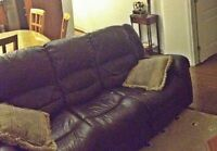 Sofas, Recliners, salon sets, sofa-bed couch Lazy boy Armchair