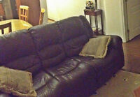 Sofas, Recliners, salon sets, sofa-bed couch Lazy boy Armchairs