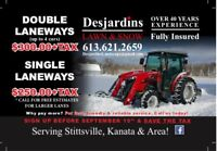 Snow blowing/ plowing BOOK NOW AND SAVE!!!