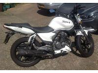 KSR Moto Work 125 Motorbike 2014, mileage 2269
