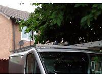 Swb renault traffic/vivaro/primaster roof rack