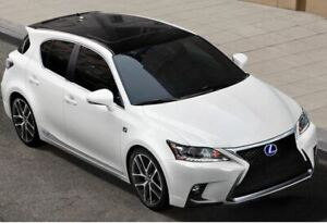 2016 Lexus CT200 h F Sport Hybrid Red Leather Sunroof