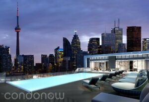 Condo in Brand New Ultra Luxurious Tridel Building