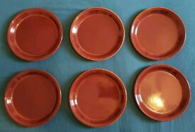Kilncraft by STAFFORDSHIRE Potteries Ltd - 6 Dinner Plates