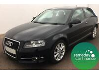 £183.64 PER MONTH - AUDI A3 2.0 TDI 140 SPORT S/S HATCHBACK DIESEL MANUAL 3 DOOR