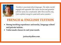 French & English tuition - All levels