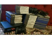 PS2 with 52 games