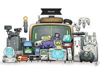 Wanted Old Retro Games and Consoles