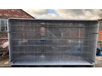 Round top heras fencing / site security panels