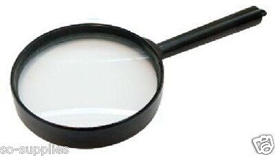 MAGNIFYING GLASS 60MM 5 X MINIMAL DISTORTION MAGNIFIER OPTICAL EYE READING TOOL