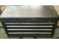 Heavy duty tool box.. carry handles. Used but good condition..