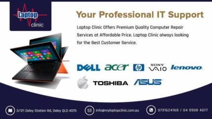 LAPTOP/PC/MAC REPAIRING SPECIALIST !Free Quote!No Fix No Fee!