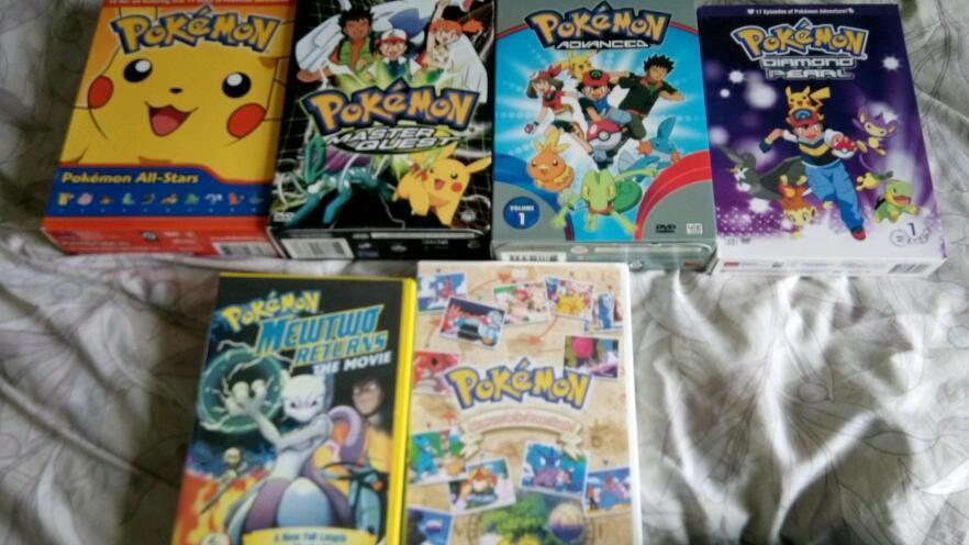 Pokemon Huge Official Dvd Collection Many Very Rare
