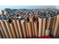 Large cardboard tubes free Free free