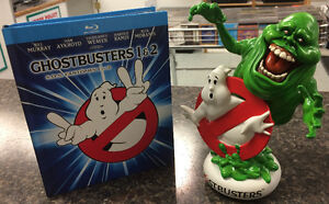 Ghostbusters Box Set with BluRays and Slimer Figurine Peterborough Peterborough Area image 2