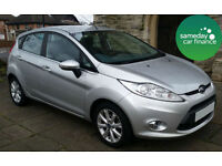 £146.95 PER MONTH SILVER 2011 FORD FIESTA 1.6 ZETEC 5 DOOR DIESEL MANUAL