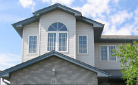 custom faux wood blinds for windows shown in this picture