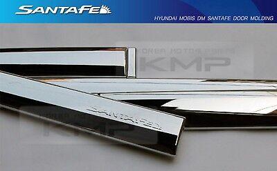 OEM Chrome Side Door Garnish Molding Trim For HYUNDAI 2013-2017 Santa Fe DM