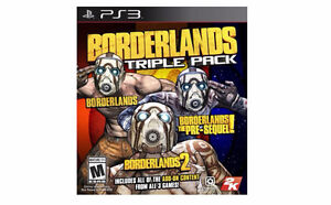 Looking to purchase Borderlands Triple Pack for PS3
