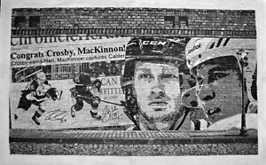 Original Signed Drawing of Nathan MacKinnon & Sidney Crosby