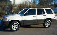 Jeep Grand Cherokee SUV - Loaded, rust free, great condition