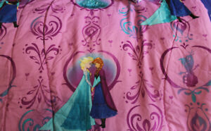 Frozen/Princess bedding and room accessories
