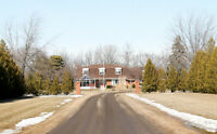 OPEN HOUSE SUNDAY 2-4PM -- 28.57 ACRE PROPERTY WITH 2 STOREY!